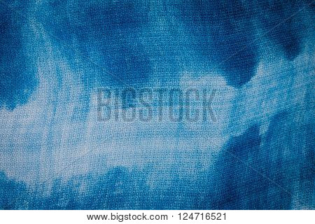 tie dyed pattern abstract  fabric texture background
