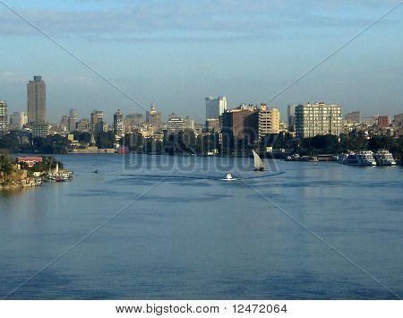 River Nile in Cairo, Egypt.