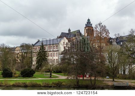 view of Wetzlar old town with cathedral Germany ** Note: Soft Focus at 100%, best at smaller sizes