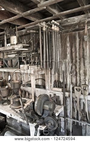 Tool shed tools