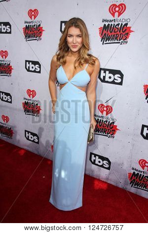 LOS ANGELES - APR 3:  Nathalia Ramos at the iHeart Radio Music Awards 2016 Arrivals at the The Forum on April 3, 2016 in Inglewood, CA