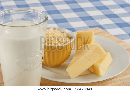 Cheese And Milk