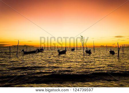 Hideaway Scene Evening Sun