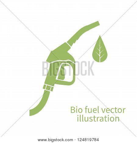 Bio Fuel Icon.