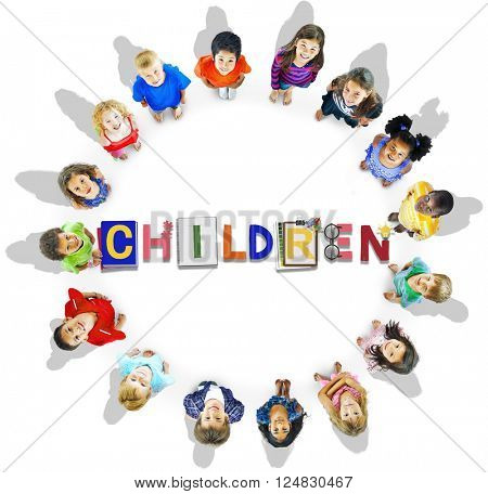 Children Kids Offspring Young Adolescence Concept