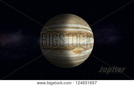 Biggest Gas Giant Jupiter
