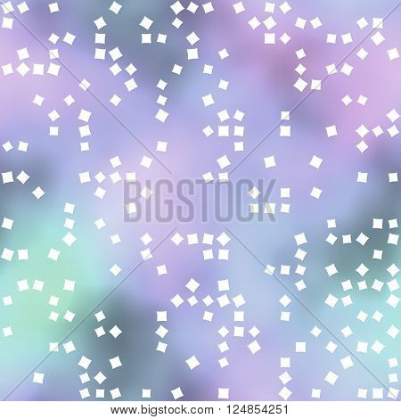 Pastel colored background or texture with white squares