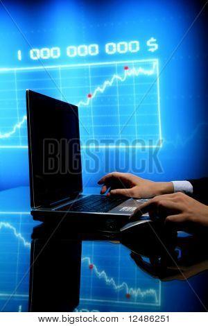 Finanzas del ordenador portátil