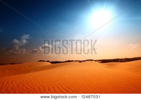 woestijnzand