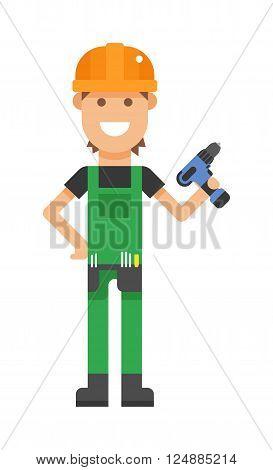 A Serviceman professional and serviceman maintenance repair.