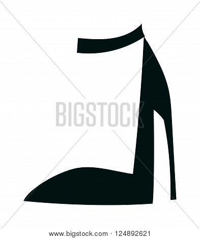 Womens leather shoes and elegance womens shoes. Glamour womens shoes stylish original design new fashionable accessory. Womens high heels beautiful shoes fashion style footwear cartoon flat vector.
