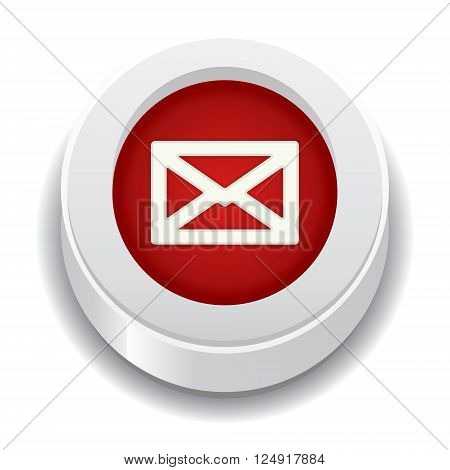 the red button with envelope icon and subtle shadow