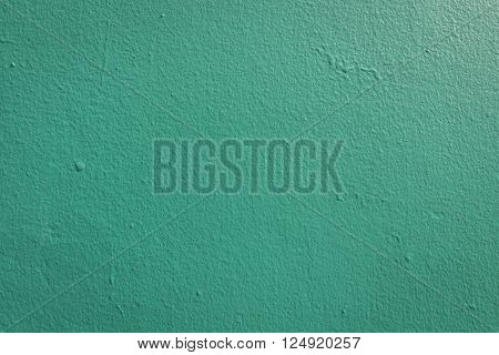 background of dark green painting at exterior buliding in daytime