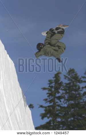 Snowboard Inverted