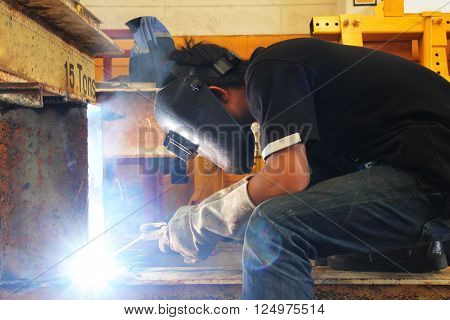 Light Of Welding Slot