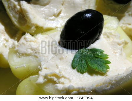 Olive On Cheese