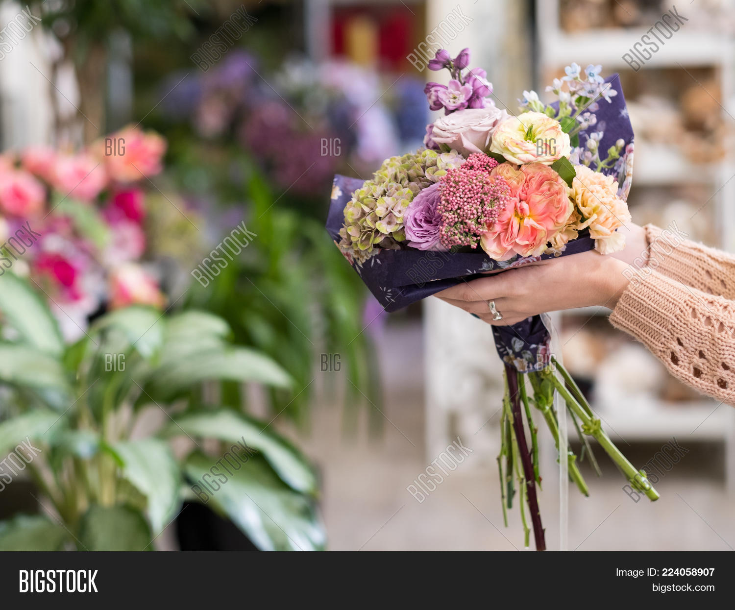 Timely Flower Bouquet Image & Photo (Free Trial)   Bigstock
