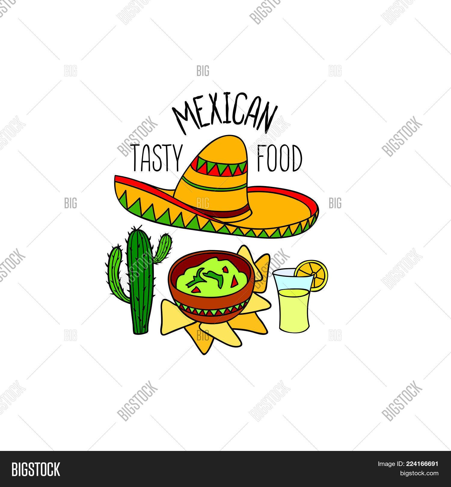 Mexican Food Symbol Vector Photo Free Trial Bigstock