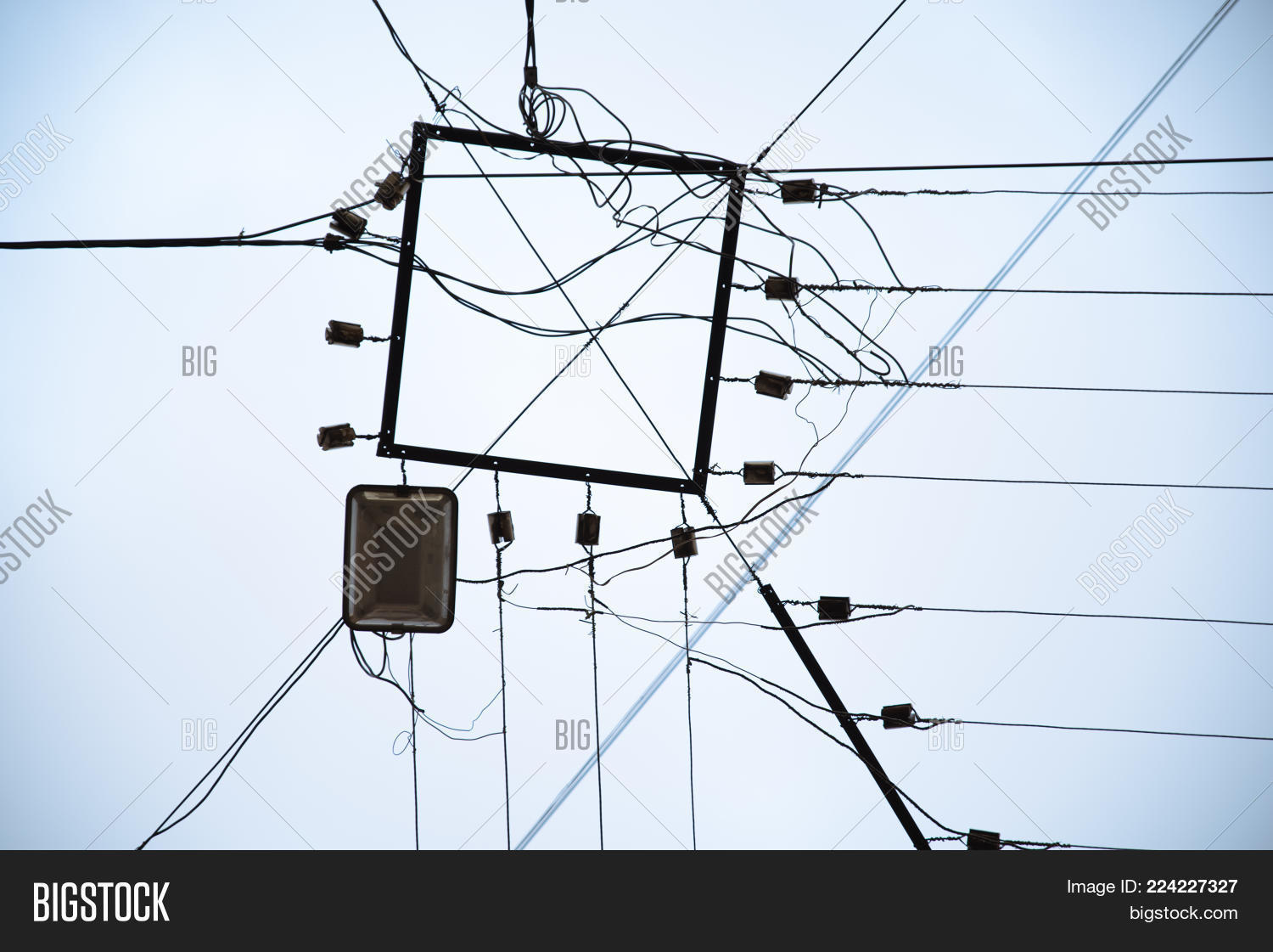 Electricity Wires Hub Image & Photo (Free Trial) | Bigstock