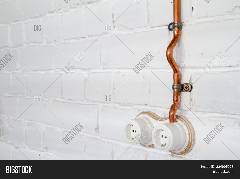 Super Retro Socket Made Image Photo Free Trial Bigstock Wiring Digital Resources Indicompassionincorg