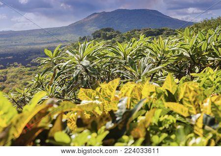 Masaya Volcano National Park In Nicaragua. Managua, Nicaragua.