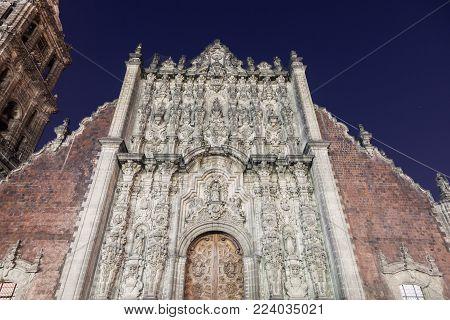 Sagrario Metropolitano In Mexico City. Mexico City, Mexico.