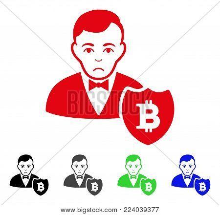 Unhappy Bitcoin Vector Photo Free Trial Bigstock