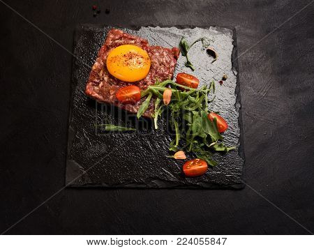 raw products meal restaurant food concept. extraordinary kitchen. gourmet cuisine