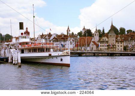 Luzern Boat Jetty
