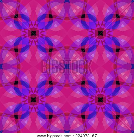 Vivid pink purple modern abstract texture. Seamless tile. Detailed background illustration. Home decor fabric design sample. Tileable motif for pillows, cushions, tablecloths. Textile print pattern.