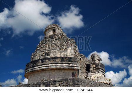 Ancient Mayan Observatory Found Among Mayan Ruins
