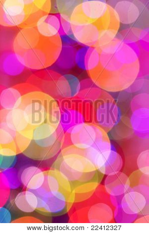 blur lights , defocused abstract background