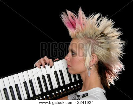 Profile Of Punk Musician