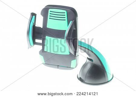 Mobile phone holder close up