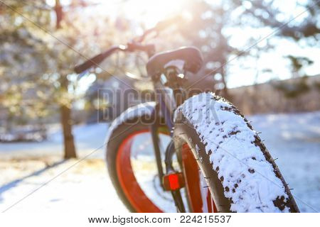 Winter biking with a fat tire bike