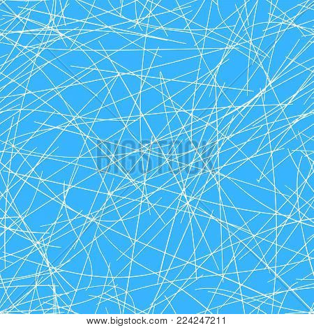 Seamless ice surface of ice rink. Ice rink. Vector illustration