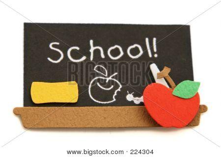 Schule Tafel
