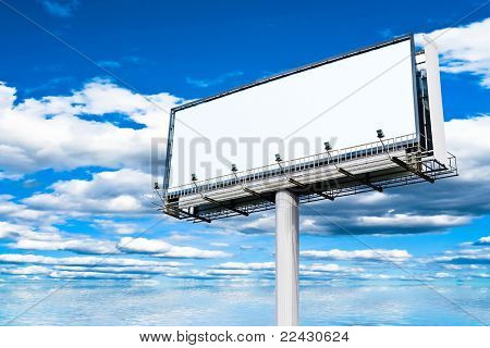 Clouds Everywhere Billboard Copyspace