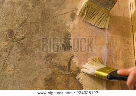 primer wall repair old wall preparation for repair