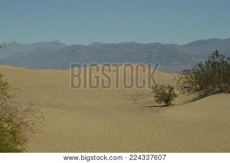 Wonderful Views Of The Mohave Desert. The Lowest Place Below The Sea Level. Gigantic Salt Lagoons. Travel holydays Geology. June 28, 2018. Death Valley California. EEUU. USA.