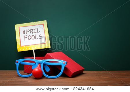 Funny glasses and