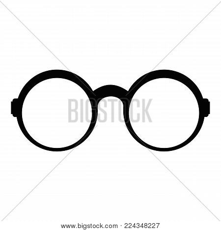 Eyeglasses for reading icon. Simple illustration of eyeglasses for reading vector icon for web