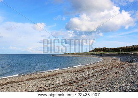 Beach On The Rhins Of Galloway, Scotland