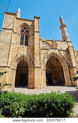 Selimiye Mosque, former  Church, Nicosia, Northern Cyprus