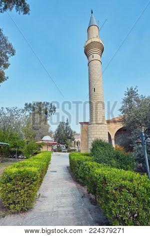 mosque in Nicosia. Cyprus