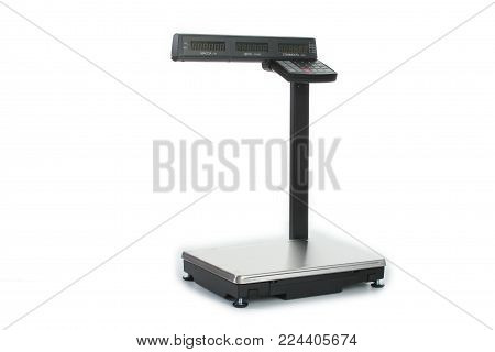 Gomel, Belarus - March 27, 2013: Cash Register Of The Firm Nts Gomel On A White Background.