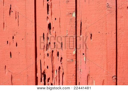 Textured Red Wall