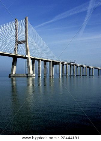 Bridge Over Tagus River