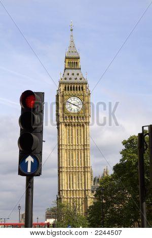 Big Ben  Red Light