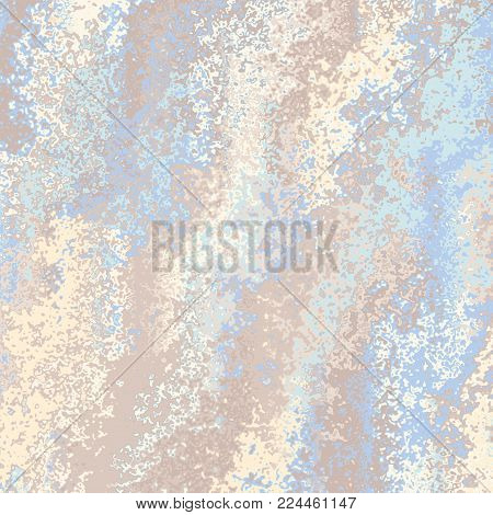 Abstract vector background. Curved irregular lines. Pattern based on fractal image.